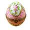 Limoges Imports Pink Egg Limoges Box