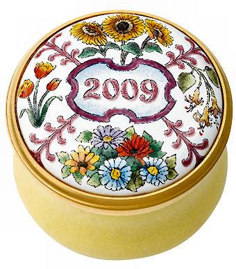 Halcyon Days 2009 Mini Year box