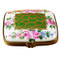 Limoges Imports Flat Gold Flowery Limoges Box