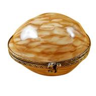 Limoges Imports Walnut Limoges Box