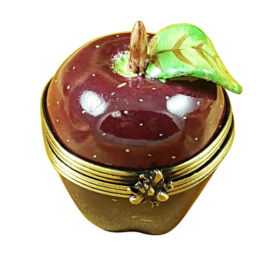 Limoges Imports Red Apple Limoges Box