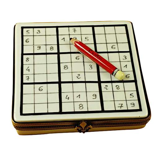 Limoges Imports Sudoku Limoges Box