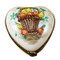Limoges Imports Heart With Fruit Basket Limoges Box