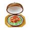 Limoges Imports Turkey Under Chrome - Happy Thanksgiving Limoges Box