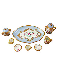 Limoges Imports Pale Blue 8 Piece Tea Set Limoges Box