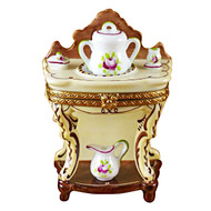 Limoges Imports Wash Basin With Bowl Limoges Box