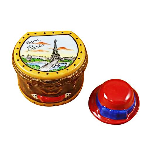 Limoges Imports Paris Hat Box Limoges Box