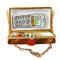 Limoges Imports Tortoiseshell Purse Limoges Box