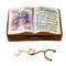 Limoges Imports Medicine Book Limoges Box