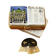 Limoges Imports Paris Opera Book Limoges Box