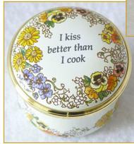 Halcyon Days I Kiss Better Than I Cook