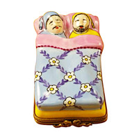 Limoges Imports Gay Couple In Bed Limoges Box