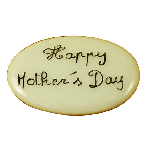 Limoges Imports Happy Mothers Day Filler - Price Code Is For Two Pieces Limoges Box
