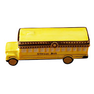 Limoges Imports School Bus Limoges Box