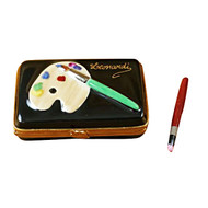 Artist Paint Box Limoges Box (TP373-H)