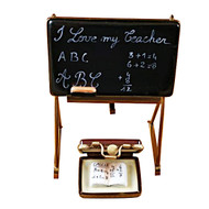 TEACHER'S BLACKBOARD Limoges Box RP057-M