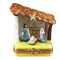 Limoges Imports Small Nativity Limoges Box
