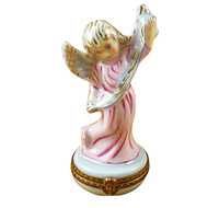 Limoges Imports Pink Angel Limoges Box