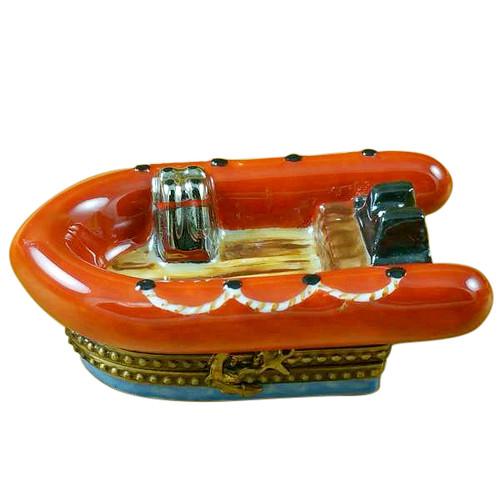 Limoges Imports Orange Zodiak Limoges Box
