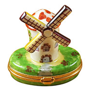 Limoges Imports Windmill Limoges Box