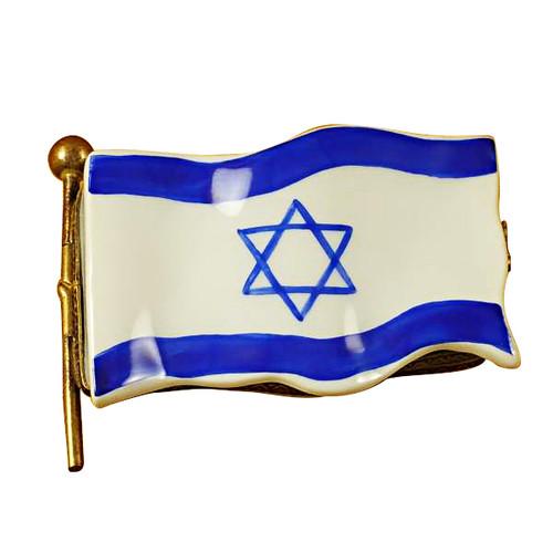 Limoges Imports Israeli Flag Limoges Box