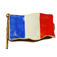Limoges Imports French Flag Limoges Box