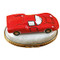 Limoges Imports Red Sports Car Limoges Box