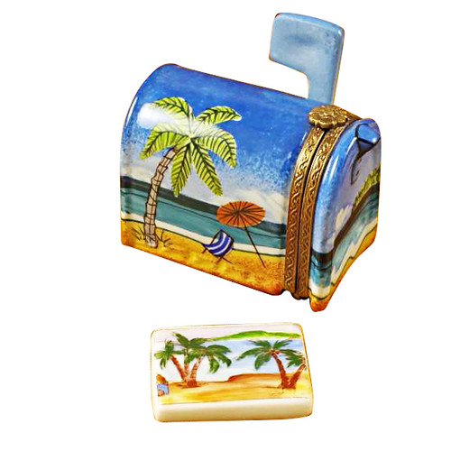 Limoges Imports Mailbox Tahiti Limoges Box