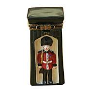 Limoges Imports British Sentinel Limoges Box