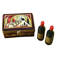 Limoges Imports Burgundy Wine Crate Limoges Box
