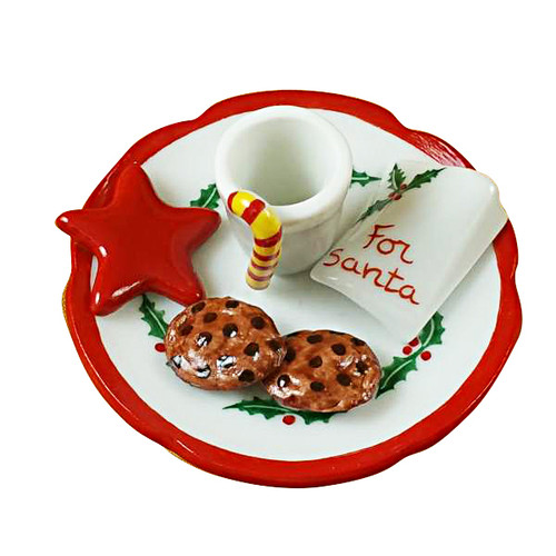 Limoges Imports Cookies For Santa Limoges Box