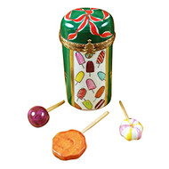 Limoges Imports Christmas Lolli-Pops Limoges Box