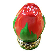 Limoges Imports Mini Red Rose Bud Limoges Box