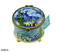 ES0010 Kelvin Chen Vincent Van Gogh Starry Night Stamp Box