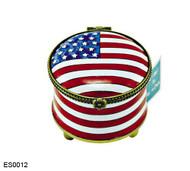 ES0012 Kelvin Chen American Flag Stamp Box