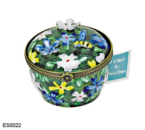 ES0022 Kelvin Chen Wild Flowers Stamp Box