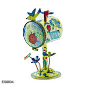 ES0034 Kelvin Chen Ladybug Birdhouse Hinged Stamp Box