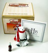 Coca-Cola Polar Bear with Coke Bottle PHB
