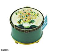 ES0039 Kelvin Chen Vincent Van Gogh Sunflowers Stamp Box