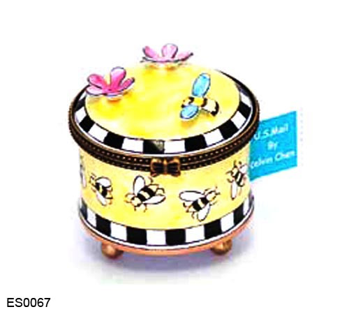 ES0067 Kelvin Chen Bumblebees Stamp Box