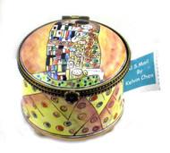 ES0071 Kelvin Chen Klimt The Hug Stamp Box