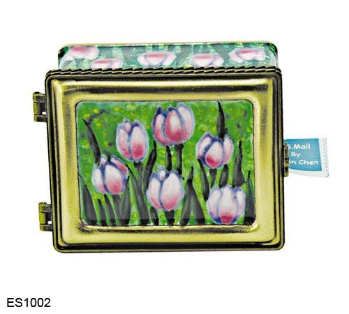 ES1002 Kelvin Chen Tulips Stamp Box