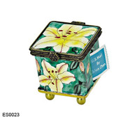 ES0023 Kelvin Chen Asiatic Lilies Stamp Box