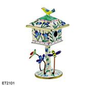 ET2101 Kelvin Chen Blue Lilac Birdhouse