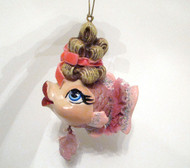Katherine's Collection Ballerina in Pink Kissing Fish