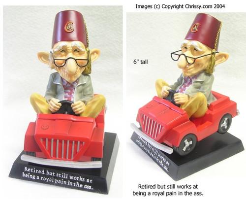 Westland Royal Pain Bobble Figurine Coot