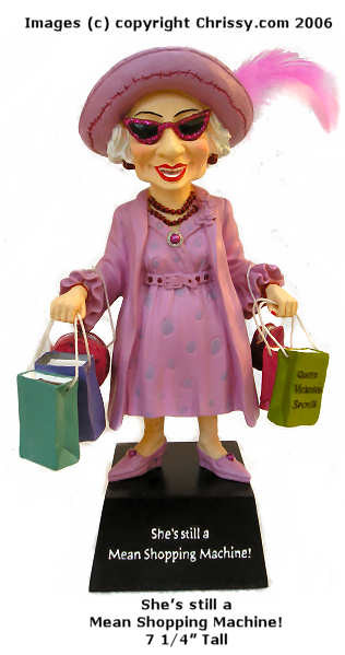 Westland Shopping Machine Figurine Biddy