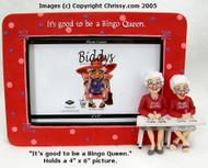 Westland The Biddy Ladies Bingo  4x6 Picture Frame