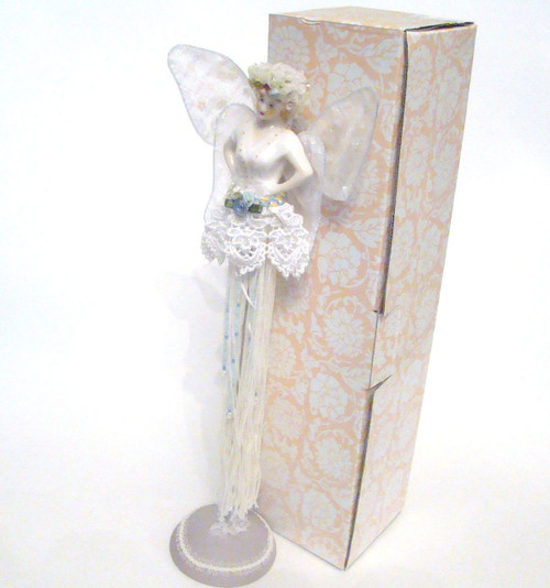 GANZ Fairy Angel Tassel Doll in White