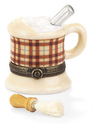 Shaving Cream Mug with Shaving Brush